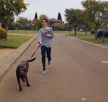 Pet Sitting in Irene | House Sitting in Irene - Walking the dog